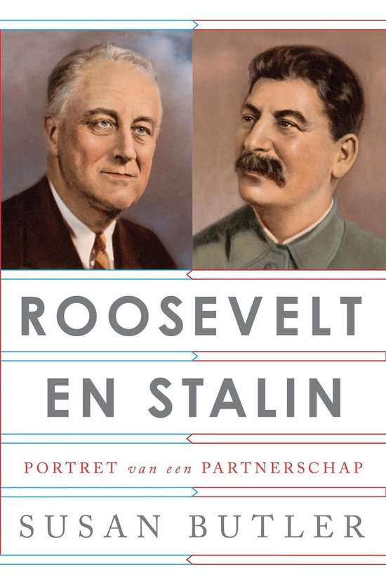 Boek cover Roosevelt en Stalin van Susan Butler (Onbekend)