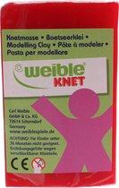 Weible Knet Fantasie Klei Blokvorm Rood - 100 Gram