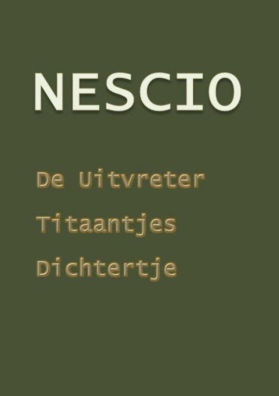 De uitvreter en andere verhalen - Nescio | Readingchampions.org.uk