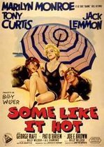 Marilyn Monroe poster-Some like it hot-filmaffiche-retro-Hollywood-vintage- 68 x 98 cm