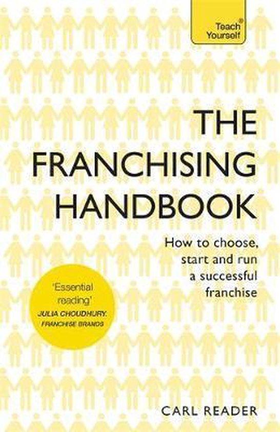 Boek cover The Franchising Handbook van Carl Reader (Paperback)
