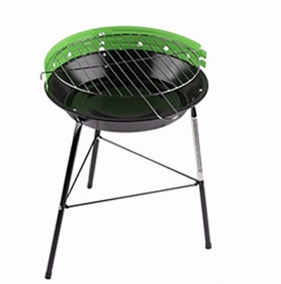 Barbecue Rond Staand Groen