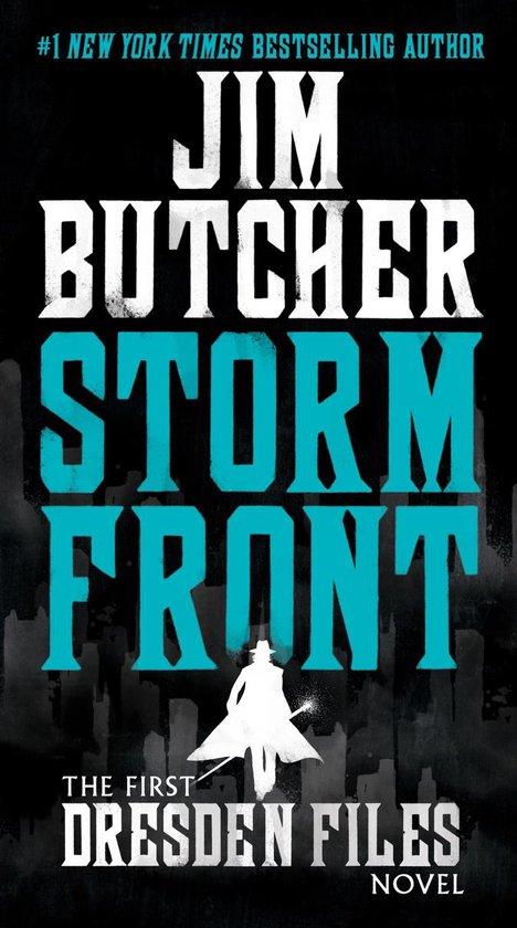 Boek cover Storm Front van Jim Butcher (Paperback)