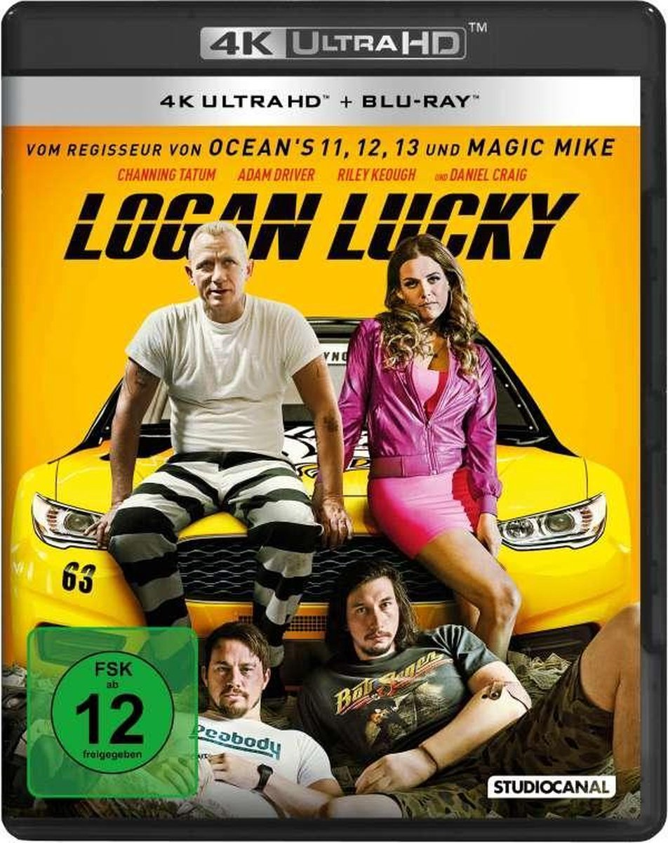 Logan Lucky (Ultra HD Blu-ray & Blu-ray)-