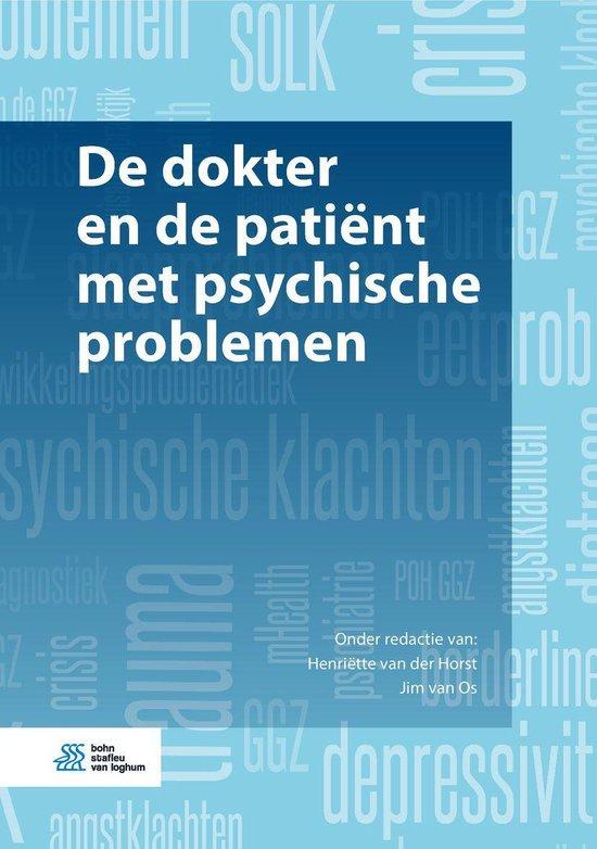 De dokter en de patiënt met psychische problemen - none  