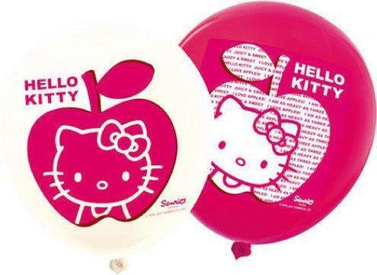 Hello Kitty Ballonnen 12 Stuks