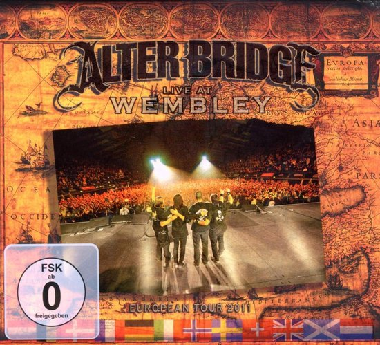 Cover van de film 'Alter Bridge - Live At Wembley'