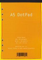 Aanvulling A5 DotPad Notitiepapier voor Planners – 80 Vel =  160 Pag. Wit 120 g/m² Papier