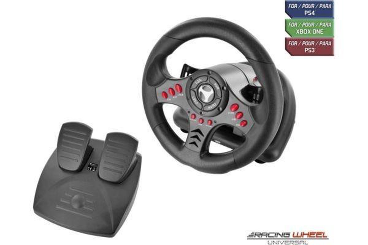 Racing wheel universal for PS4 - Xbox One - PC and PS3