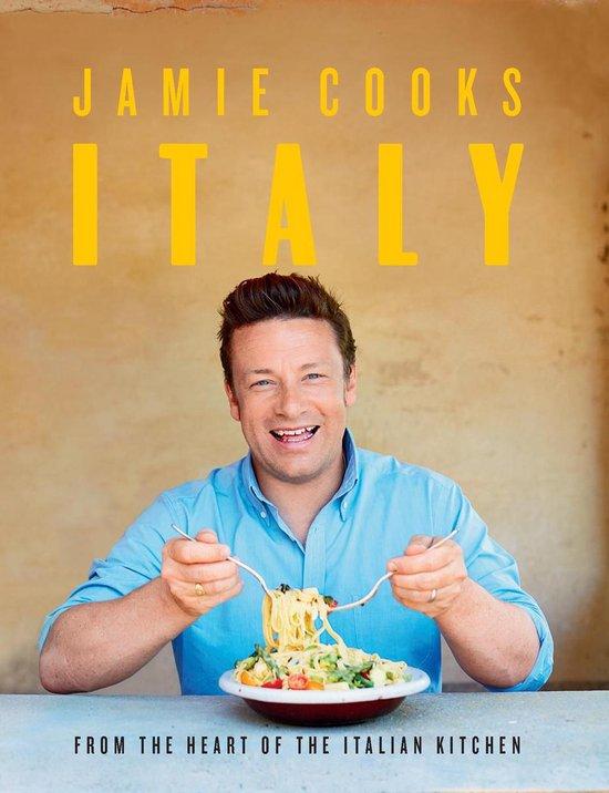 Boek cover Jamie Cooks Italy van Jamie Oliver (Hardcover)