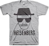 T-shirt Breaking Bad Heisenberg grijs 2xl