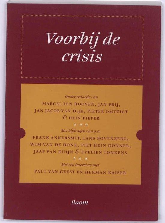Boek cover Christen Democratische Verkenningen - Voorbij de crisis van Marcel ten Hooven (Paperback)