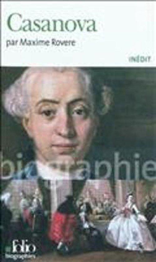 Boek cover Casanova van Maxime Rovere (Paperback)