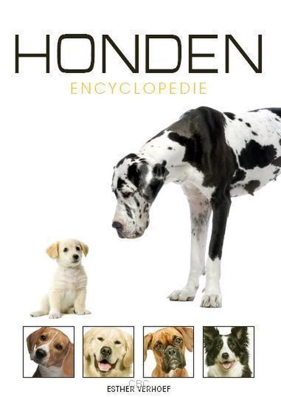 Encyclopedie - Geillustreerde Honden encyclopedie - Esther Verhoef |