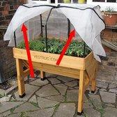 Insectengaas voor vegtrug 1 m - set van 2 stuks