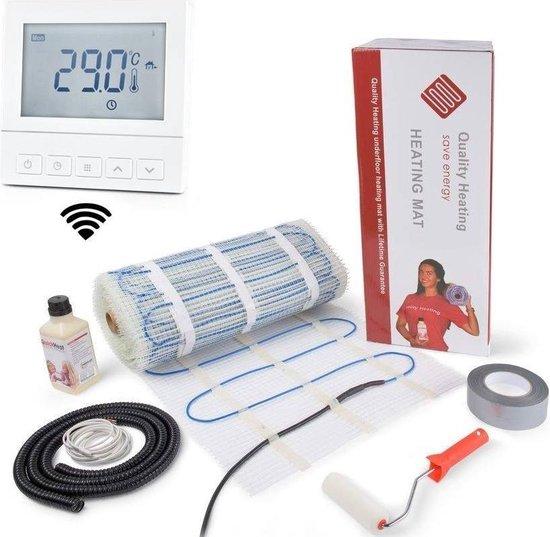 Elektrische vloerverwarming WIFI set 2,0M2 320Watt