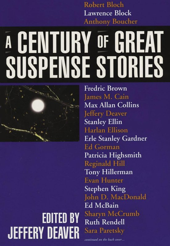 Omslag van A Century of Great Suspense Stories