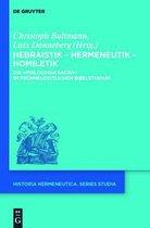 Hebraistik - Hermeneutik - Homiletik