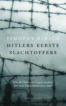 Boek cover Hitlers eerste slachtoffers van Timothy Ryback (Onbekend)