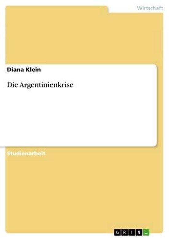 Die Argentinienkrise