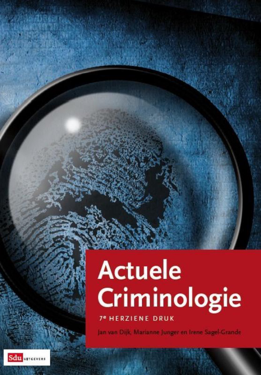 Actuele Criminologie - Jan van Dijk