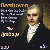 Beethoven: String Quartets, Op. 59 Nos. 1-3 'Rasumovsky'; String Quartet Op. 74 'Harp'