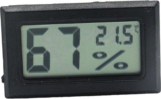 2in1 Hygrometer Thermometer digitaal, klein en compact
