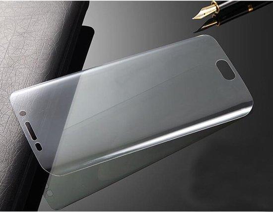 Uiterst dunne gebogen TPU Screen Protector voor Galaxy S6 Edge / G925