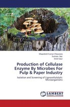 Production of Cellulase Enzyme by Microbes for Pulp & Paper Industry