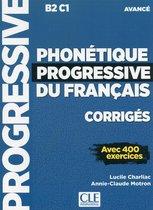 Phonétique progressive du français - niveau avancé corrigés