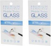 Samsung A50 Screenprotector - Glas - 2 stuks - Premium Tempered – 1 plus 1 gratis