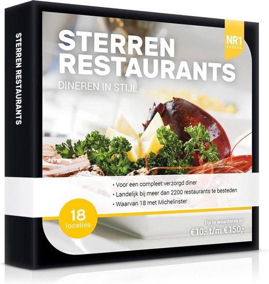 Nr1 Sterren Restaurants 50,-