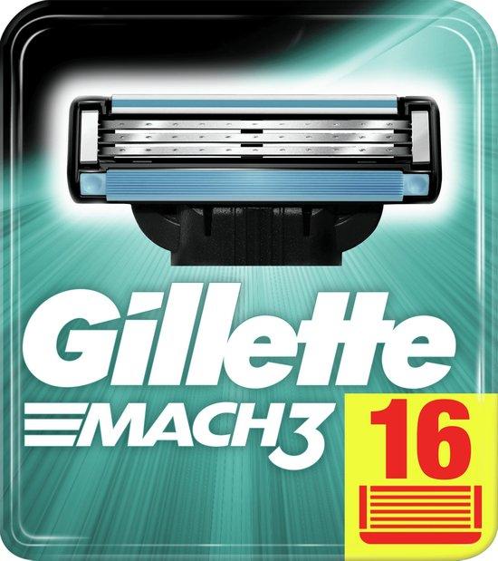 Gillette Mach 3 Base Mesjes 16ct