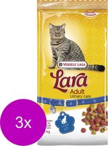 Lara Adult Urinary Care Kip - Kattenvoer - 3 x 2 kg