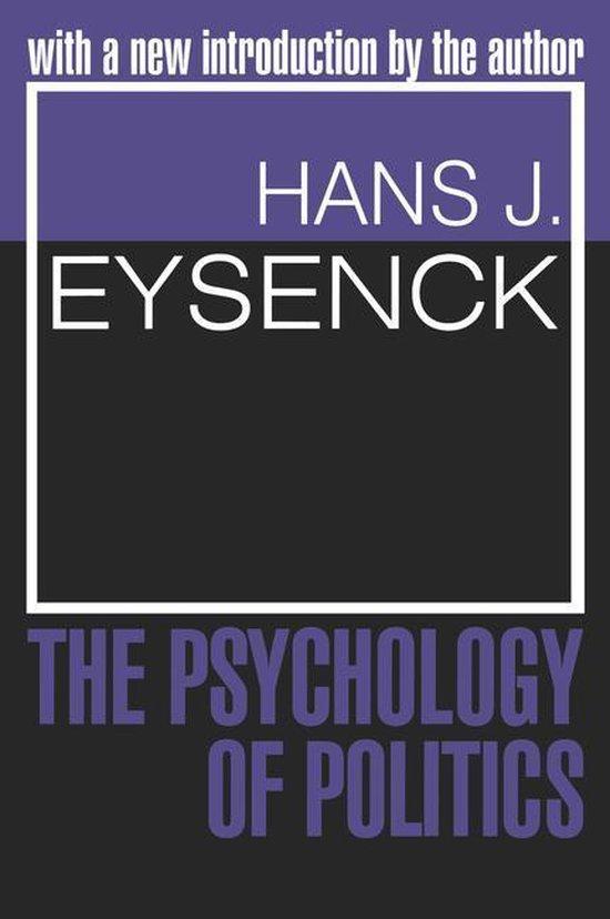 Boek cover The Psychology of Politics van Hans J. Eysenck (Onbekend)