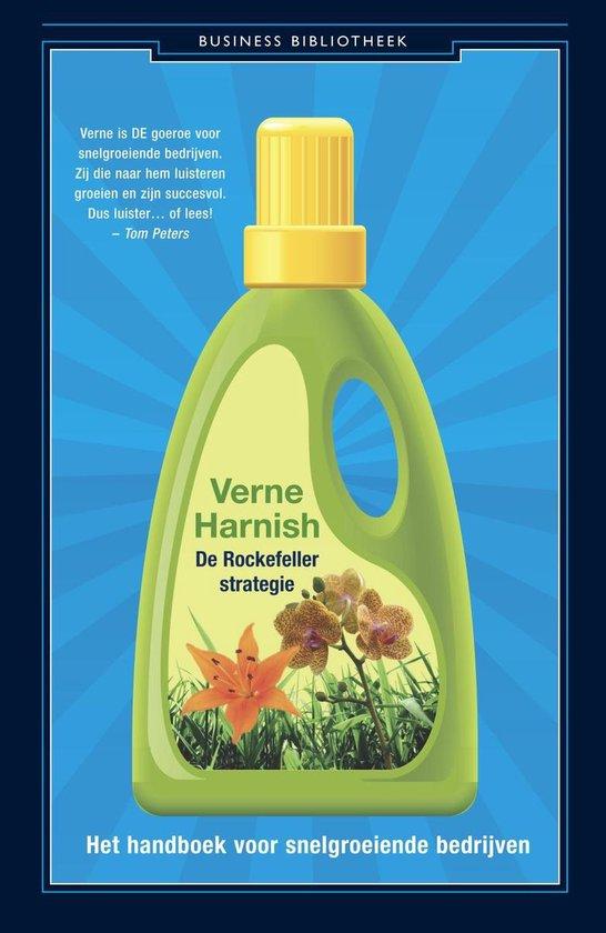 Boek cover De Rockefeller-strategie van Verne Harnish (Onbekend)