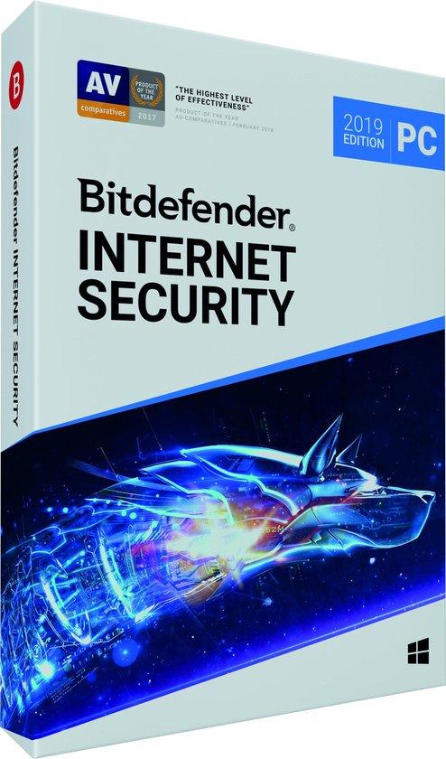 Bitdefender Internet Security 2019 - 1 Apparaat - 1 Jaar - Windows
