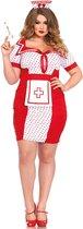 """""""Sexy verpleegster kostuum voor vrouwen - Verkleedkleding - XXL"""""""