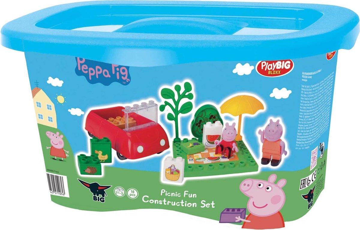 BIG Bloxx Peppa Pig Picnic Fun - BIG