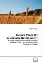 Durable Peace for Sustainable Development