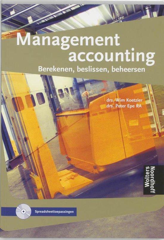 Boek cover Berekenen, beslissen, beheersen Management accounting van  (Hardcover)