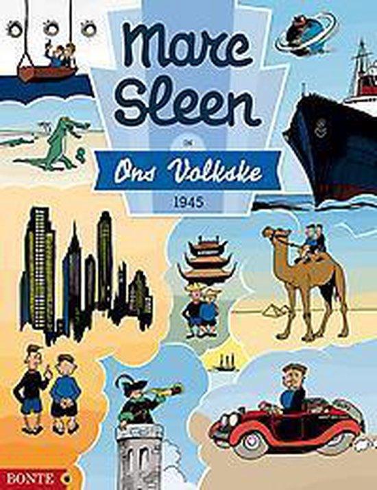 Marc sleen in ons volkske 1945 - Sleen Marc |