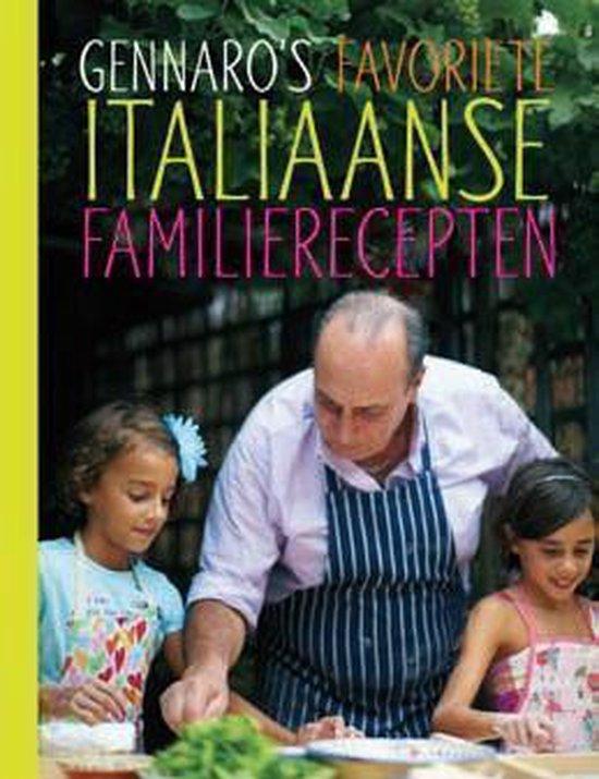 Boek cover Gennaros favoriete Italiaanse familierecepten van Gennaro Contaldo (Hardcover)