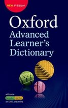Boek cover Oxford Ad Learners Dictionary paperback + dvd + onl van