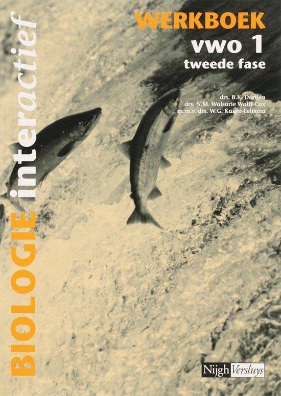 Biologie interactief 1 Vwo Actieboek - B.K. Dertien   Fthsonline.com