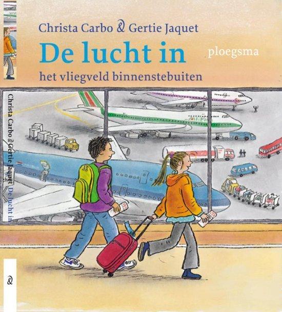 Cover van het boek 'De lucht in' van Christa Carbo