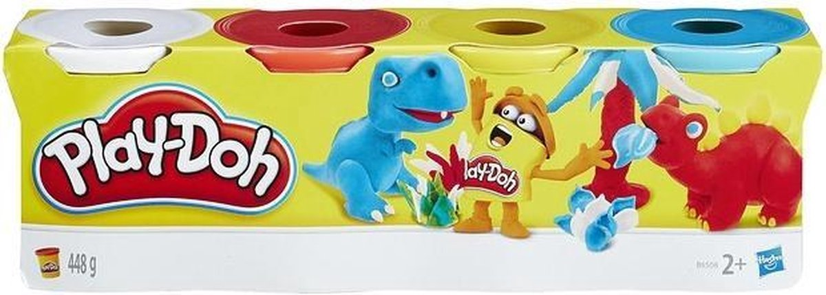 Play-Doh 4-pack - 448 Gram - Klei