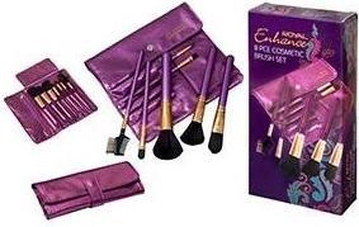 Royal Enhance Brush Set - 8 stuks - Royal