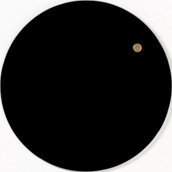 Afbeelding van NAGA Nord  Memobord glas 25cm Zwart