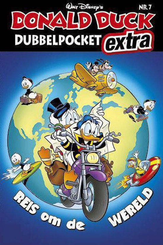 Donald Duck Dubbelpocket extra deel 7 - Reis om de wereld - Disney  